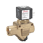 2/2 Danfoss Solenoid Valve With Filter Servo-Operated