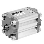 Joucomatic Compact Cylinders Dia. 32 - 100mm Compatible With ISO15552AFNORDIN-With Supplies On The Same Extremity