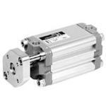 Joucomatic Compact Cylinders Dia. 32 - 100mm Compatible With ISO15552AFNORDIN-With Antirotation Device